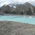 Mount Cook (Nouvelle Zélande) : du saumon et des sommets enneigés