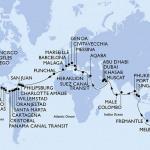 Tour du monde en Croisière à bord d'un Costa / MSC : Interview