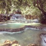 Luang Prabang (Laos) : Cascades de Kuang Si, Coucher du soleil, comment j'ai raté mon avion, une rencontre inattendue