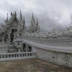 Chiang Rai (Thailande) : Visite du Temple Blanc (Wat Rong Khun), du Wat Phra Kaeo, Flower Festival & Night Bazaar