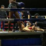 Combats de Boxe thaï (Muyay-thaï) au Chiang Mai Boxing Stadium