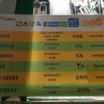 Carte SIM 3G/4G prépayée au Laos : Combien ça coûte ? Où en acheter ? Recharge & Speedtest