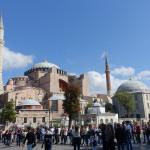 Premiers Jours à Istanbul (Turquie) #1 : notre Airbnb & la Basilique Sainte-Sophie