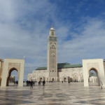 De passage à Casablanca, visite de la Mosquée Hassan II (Maroc)