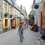 Un jour à Quebec City (Canada)