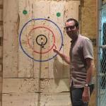 Découverte du lancer de haches à Montréal (Canada)