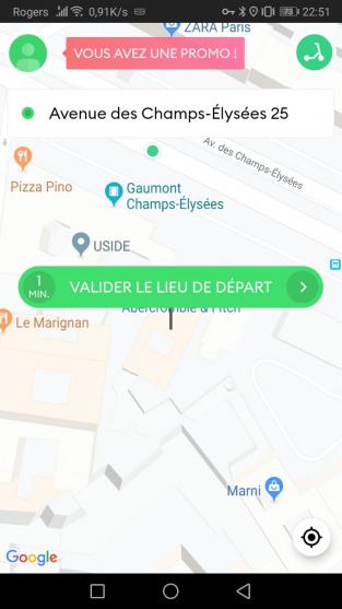 Test, Avis et code promo 15 € de Bolt (ex Taxify)