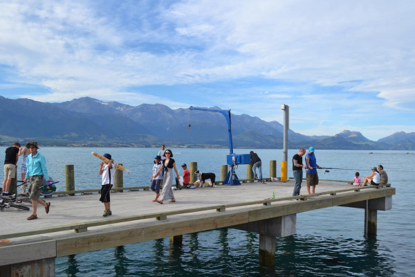 Carnets de voyage en Nouvelle Zélande, Kaikoura, 03/01/2011.Photo Mathieu THOMASSET