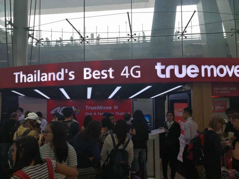 Carte Wifi Thailande.Carte Sim 4g Prepayee En Thailande Combien Ca Coute Ou En Acheter