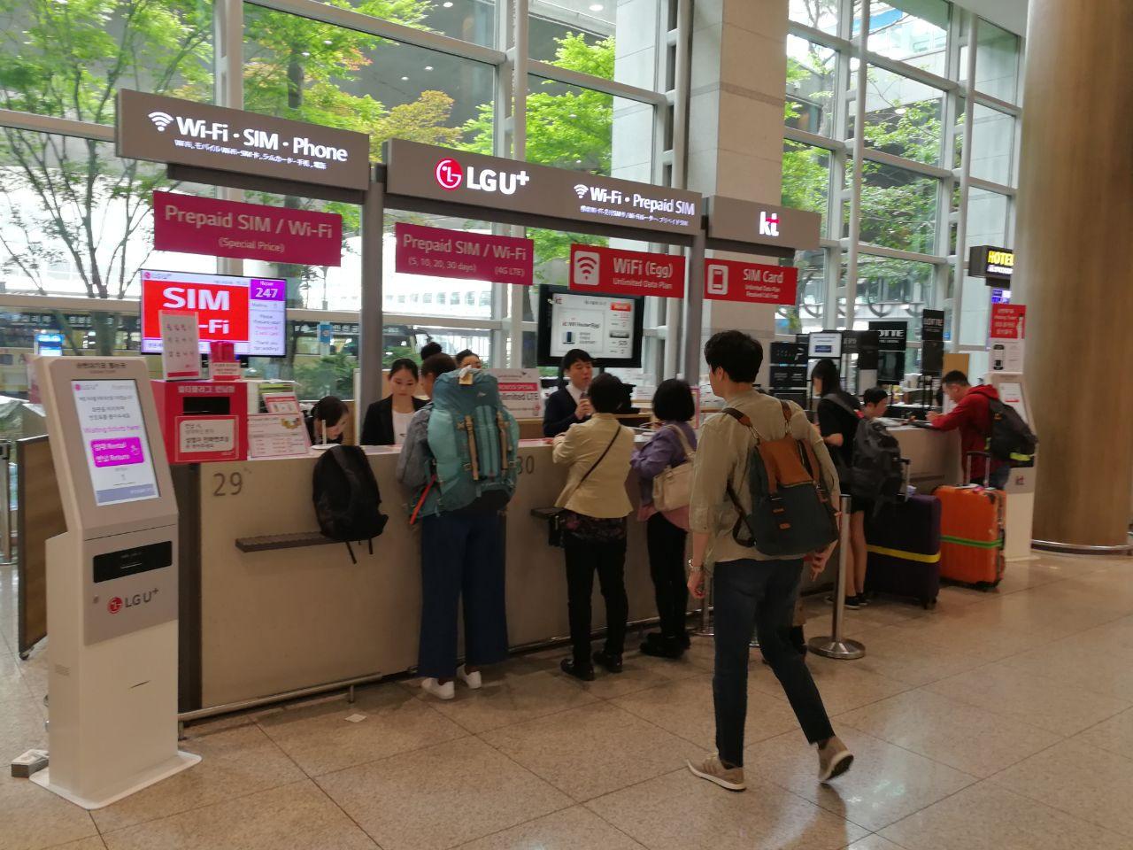 Carte Wifi Thailande.Carte Sim 4g Prepayee En Coree Du Sud Combien Ca Coute Ou En