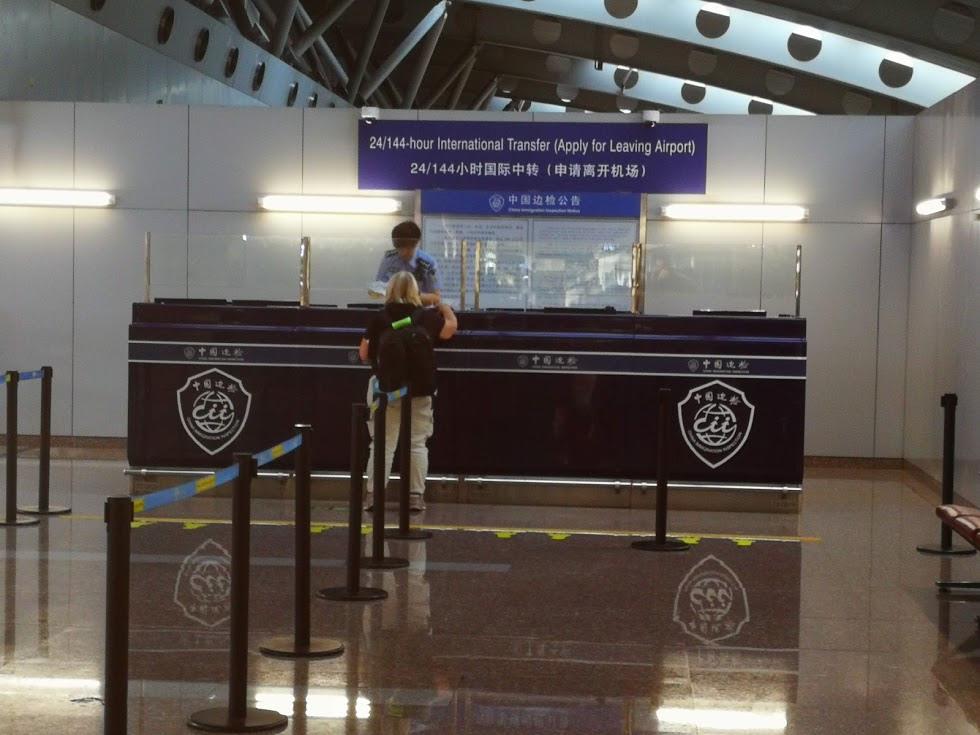 Jusquà 6 jours de transit en chine ? pas besoin de visa !